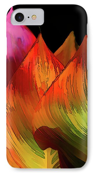 Leaves Aflame IPhone Case