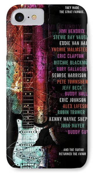 Legends Of The Strat IPhone Case