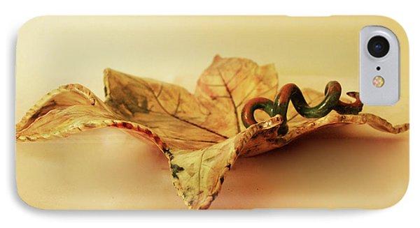 Leaf Plate 1 IPhone Case