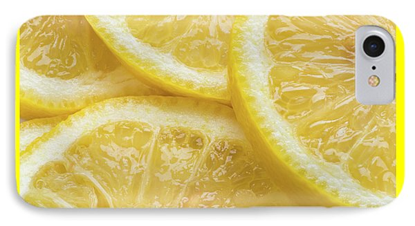 Lemon Slices Number 3 IPhone Case