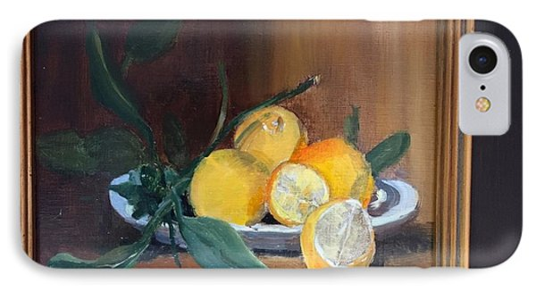 Lemons Waiting IPhone Case