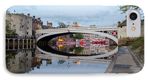 Lendal Bridge Reflection  IPhone Case