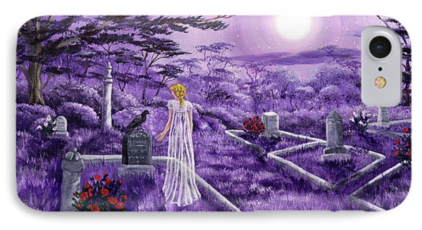 Lenore In Lavender Moonlight IPhone Case