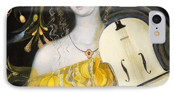 Violin iPhone 8 Case - Leo by Annael Anelia Pavlova