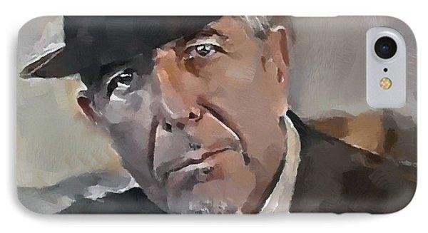 Tribute iPhone 8 Case - Leonard Cohen Tribute 4 by Yury Malkov