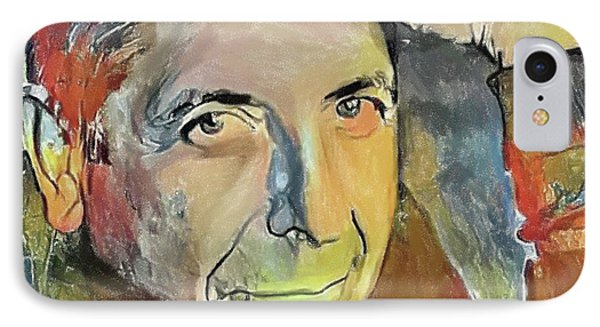 Tribute iPhone 8 Case - Leonard Cohen Tribute 6 by Yury Malkov