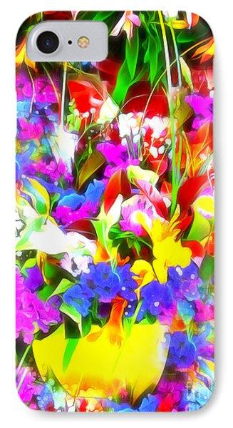 Les Jolies Fleurs IPhone Case
