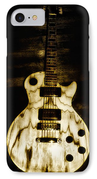 Music iPhone 8 Case - Les Paul Guitar by Bill Cannon