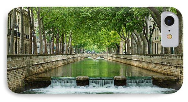 Les Quais De La Fontaine IPhone Case