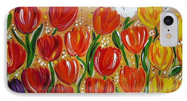 Les Tulipes - The Tulips IPhone Case