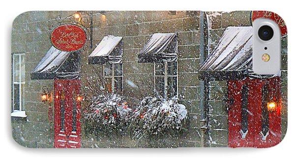 Let It Snow Let It Snow Let It Snow IPhone Case