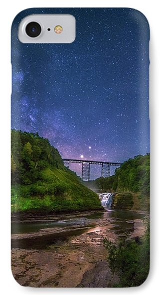 Letchworth At Night IPhone Case