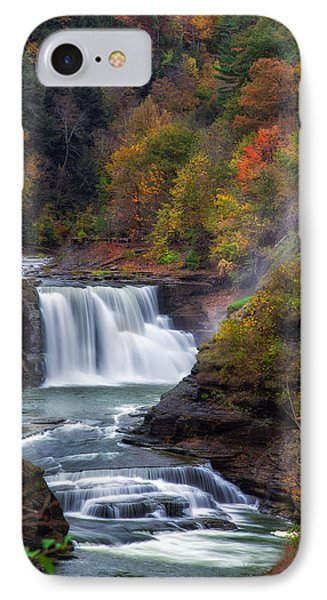 Letchworth Lower Falls 3 IPhone Case