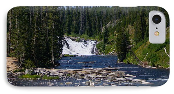 Lewis Falls Yellowstone IPhone Case