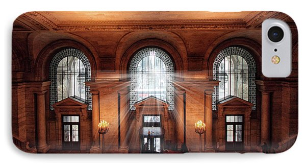 Library Entrance IPhone Case