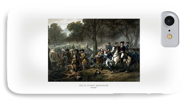 Life Of George Washington - The Soldier IPhone Case
