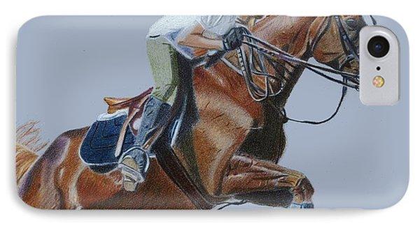 Horse Jumper IPhone Case