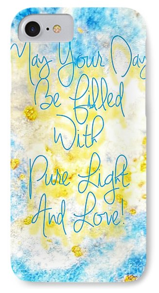 Light And Love IPhone Case