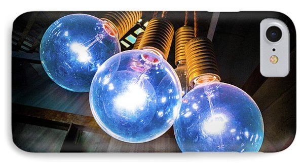 Light Bulbs IPhone Case
