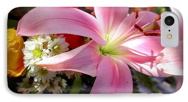 Lighted Lily IPhone Case