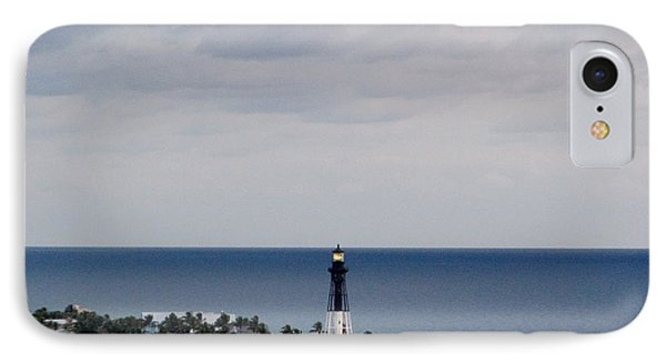 Lighthouse And Rain Clouds IPhone Case