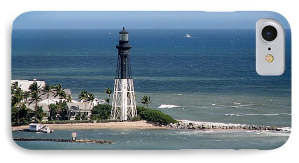 Lighthouse At Hillsboro Beach, Florida IPhone Case