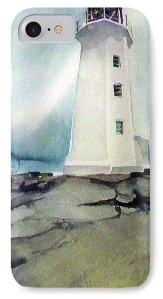 Lighthouse Rock IPhone Case