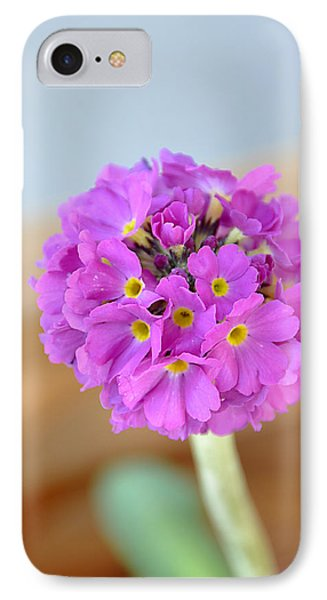 Single Pink Flower IPhone Case