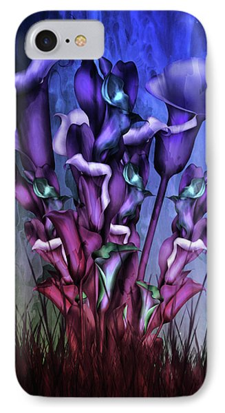 Lily Fantasy By Night IPhone Case