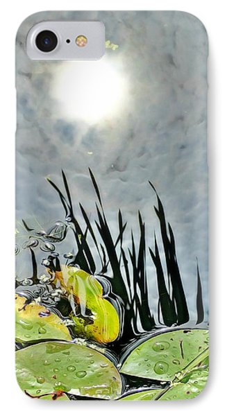 Lily Pad Reflection IPhone Case