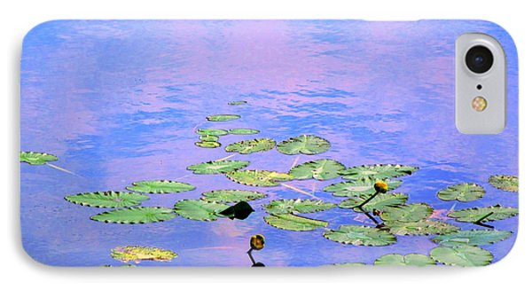 Laying Low Like A Lily Pond  IPhone Case