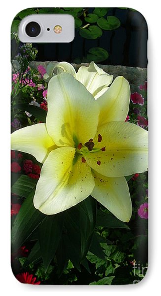 Lily Upon The Pond IPhone Case