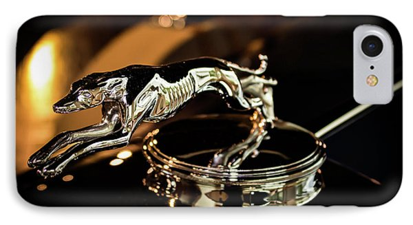 Lincoln Greyhound Hood Ornament IPhone Case