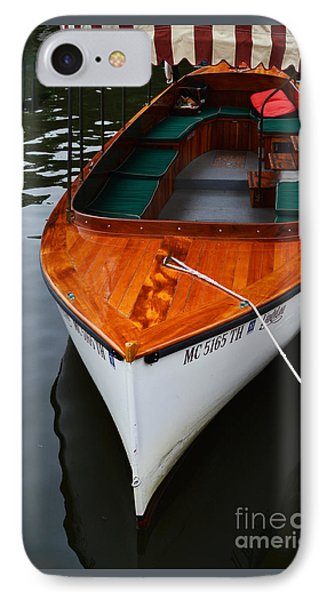 Lindy Lou Wood Boat IPhone Case