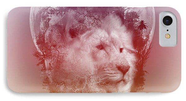 Lion 3 IPhone Case