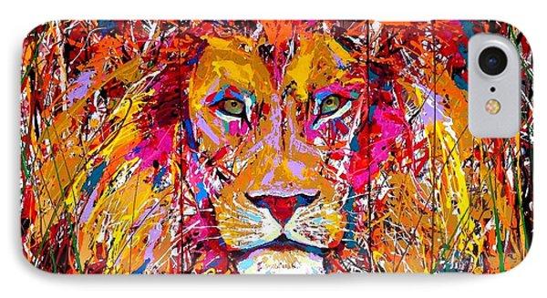 Lion 4 IPhone Case