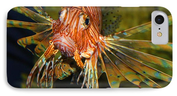 Lion Fish 2 IPhone Case