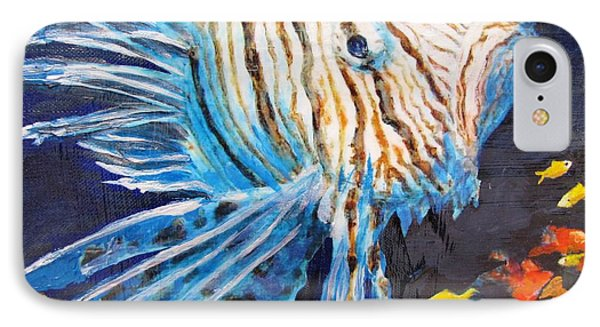 Lion Of The Sea 2 IPhone Case