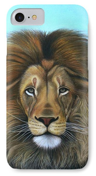 Lion - The Majesty IPhone Case