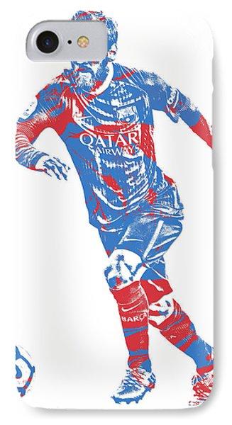 Lionel Messi F C Barcelona Argentina Pixel Art 1 IPhone Case