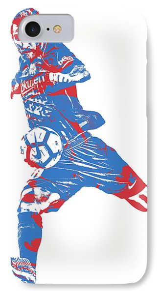 Lionel Messi F C Barcelona Argentina Pixel Art 2 IPhone Case