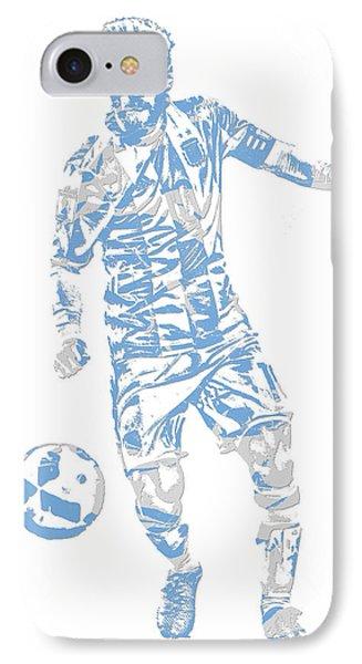 Lionel Messi F C Barcelona Argentina Pixel Art 3 IPhone Case