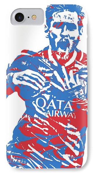 Lionel Messi F C Barcelona Argentina Pixel Art 5 IPhone Case