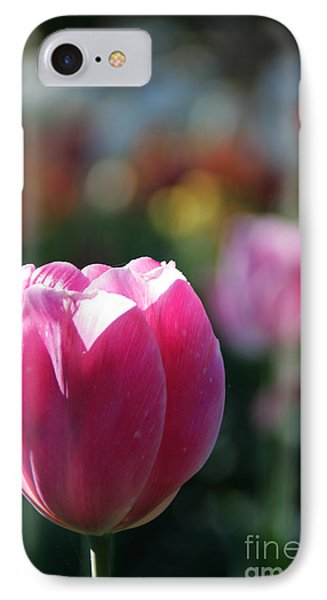 Lit Tulip 04 IPhone Case