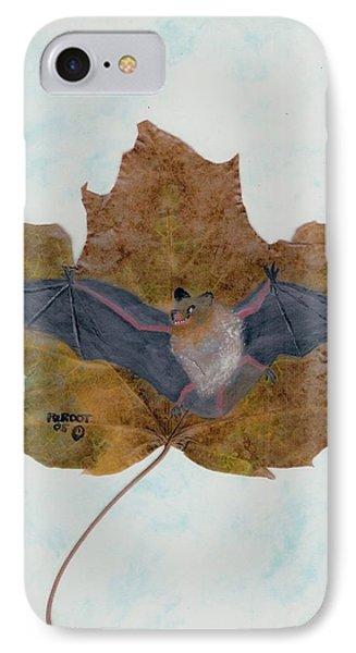 Little Brown Bat IPhone Case