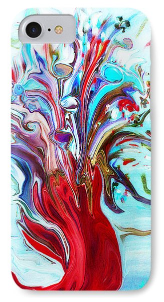 Abstract Little Mermaid Vase  By Sherriofpalmsprings IPhone Case