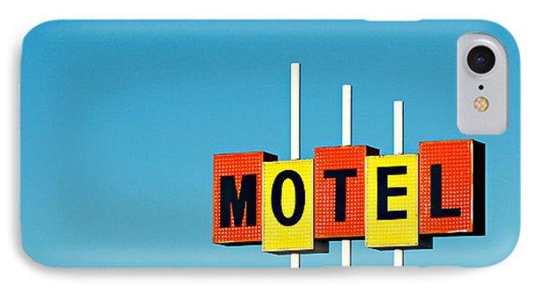 Little Motel Sign IPhone Case