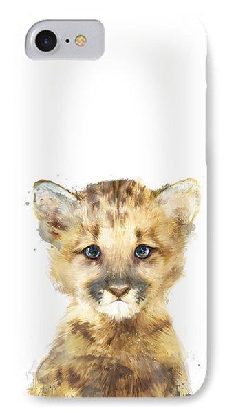 Mountain iPhone 8 Case - Little Mountain Lion by Amy Hamilton