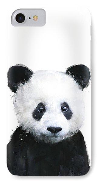 Portraits iPhone 8 Case - Little Panda by Amy Hamilton