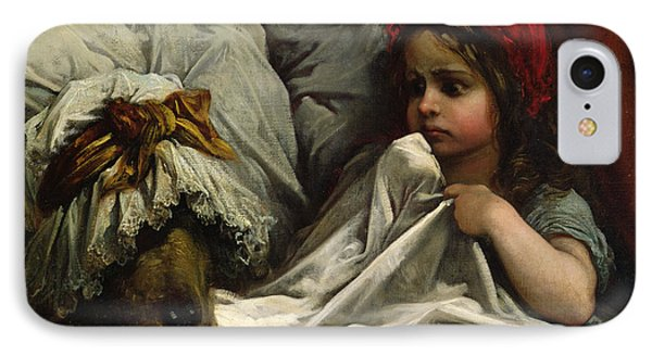 Fairy iPhone 8 Case - Little Red Riding Hood by Gustave Dore